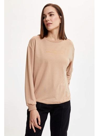 DeFacto Sweatshirt Altın